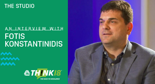 Fotis Konstantinidis Speaks on Why Credit Unions Should Be Looking to AI at the THINK 18 Studio