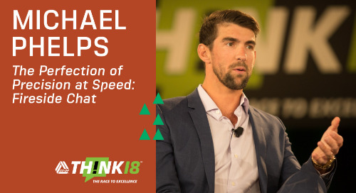 Michael Phelps Shares His Experiences and Struggles Achieving Excellence | THINK 18