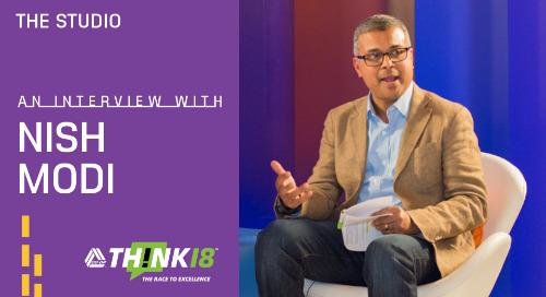 Nish Modi Talks Untangling the Complexities of Data at THINK 18 Studio