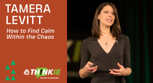 Tamera Levitt Shares How to Find Calm Within the Chaos - THINK 18