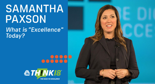 "CO-OP Chief Experience Officer Samantha Paxson Breaks Down What ""Excellence"" Means at THINK 18"