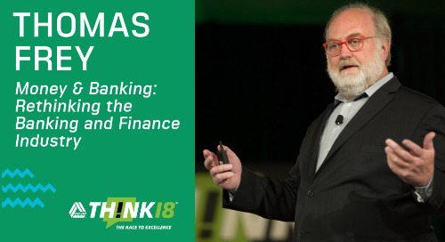 Tomas Frey Discusses How To Rethink the Finance Industry