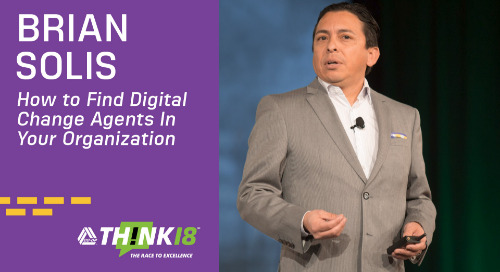 Brian Solis Explains How to Create Change Agents Within Your Organization at THINK 18