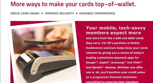 Wallet Enablement Slipsheet