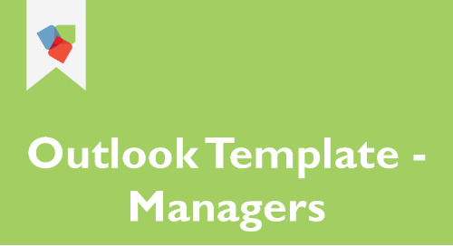 Outlook Template for Managers