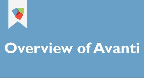 Overview of Avanti