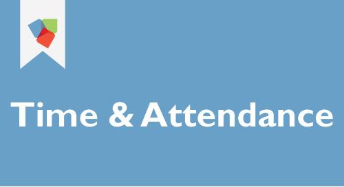Time & Attendance