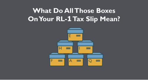 How to Read Your Relevé RL-1 Tax Slip