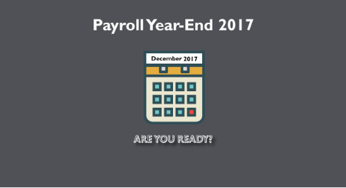 Payroll 2017 Year-End: How to Be Prepared