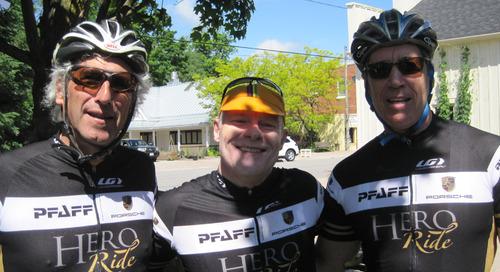 Heroic Riders Honour Jeremy