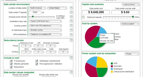 [Calculator] Data Center Capital Cost