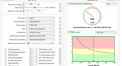 [Calculator] Data Center Efficiency - Improve your PUE