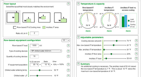 [Calculator] InRow Ancillary IT Equipment Cooling