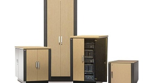 """Video Tour of NetShelter CX Brings Home the Value of the """"Server Room in a Box"""""""
