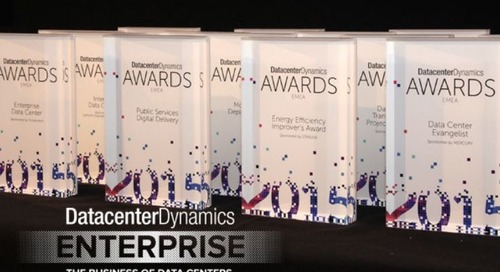 Data Center Dynamics Awards New York City, New York April 20, 2016