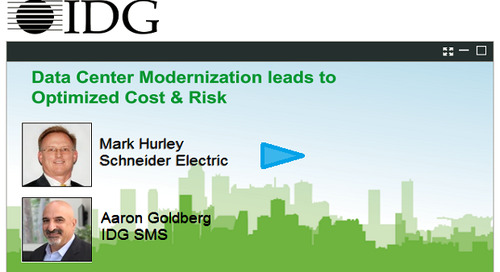 IDG Webinar: Optimizing Data Center Revenue, Cost & Risk
