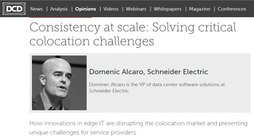 DCD Opinions: Consistency at scale - Solving critical colocation challenges