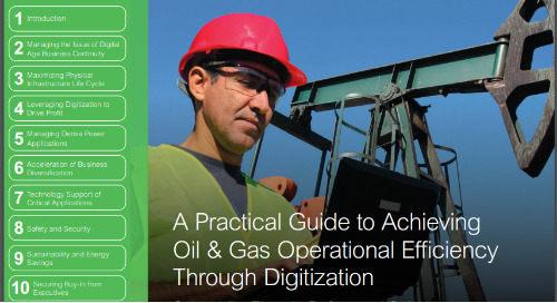 Practical Guide to Achieving Oil & Gas Efficiency Through Digitization