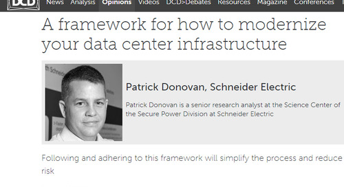 A Framework for How to Modernize Your Data Center Infrastructure