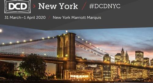 Data Center Dynamics New York   March 31-April 1