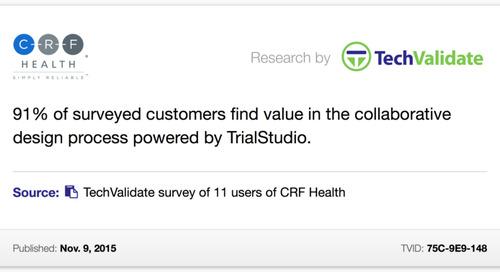 Customers Find Value in the Collaborative TrialStudio® Design Process
