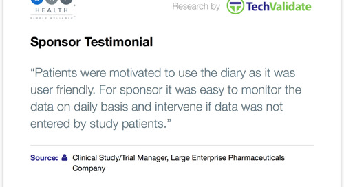 Testimonial: Patients and Sponsors Love TrialMax®