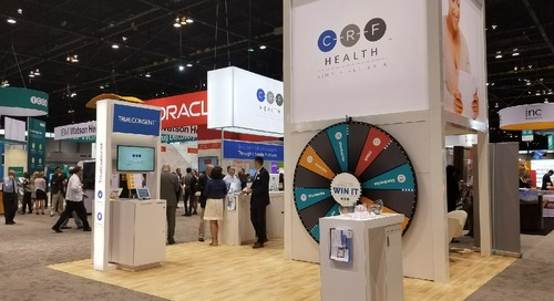 DIA 2017 Recap: Wheel of Prizes at CRF Health Booth 2006