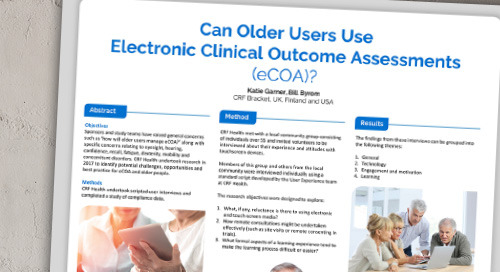 Poster: Can Older Users Use Electronic Clinical Outcome Assessments?