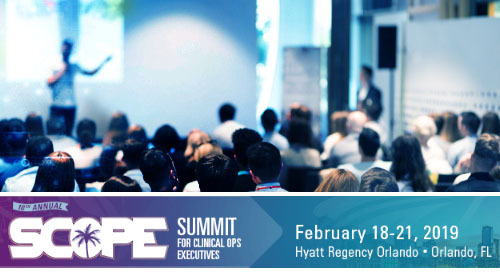 CRF Bracket Moves Clinical Trials Forward at 2019 Annual SCOPE Summit
