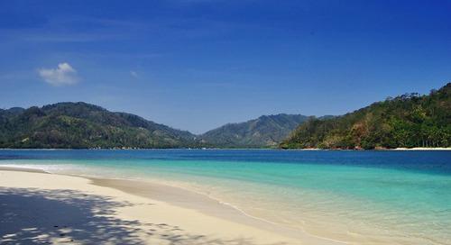Melihat Gerombolan Lumba-Lumba Melintas di Teluk Kiluan, Lampung