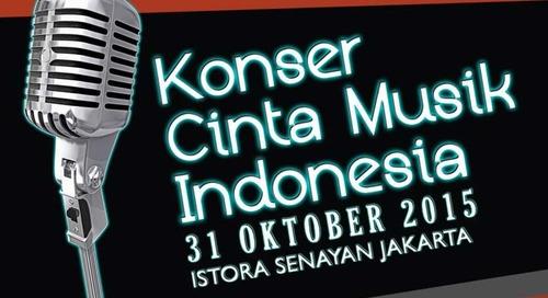 Ikut Lelang Tiket Konser Cinta Musik Indonesia Untuk Mendukung Musik Indonesia!