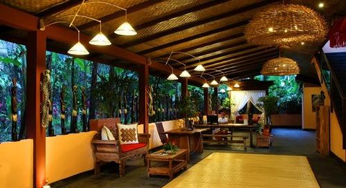 Penginapan Bernuansa Tropical Green di Jungle Retreat Ubud by Kupu Kupu Resorts