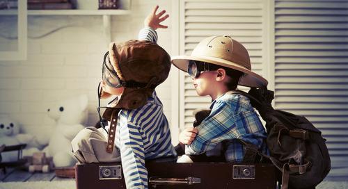 Melatih Anak Nyaman Traveling