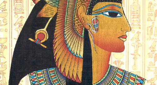 Cleopatra Mengenakan Eyeliner Karena Dapat Menghindari Penyakit