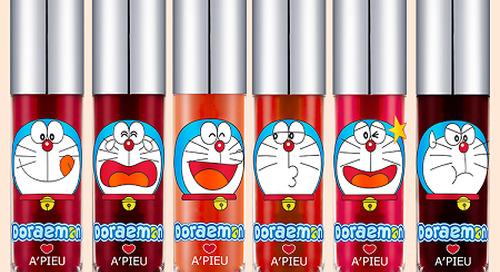 Brand Kosmetik Asal Korea Ini Merilis Make Up Edisi Doraemon!