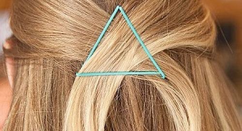 6 Style Rambut Menggunakan Jepit Sederhana