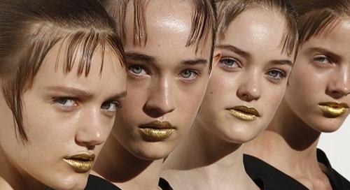 """""""No-Makeup"""" Makeup, Tren Beauty di Milan Fashion Week"""