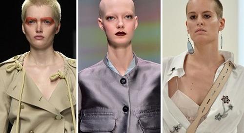 Tren Botak di Milan Fashion Week
