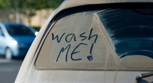 Bersihkan Mobil Anda, Sekarang!