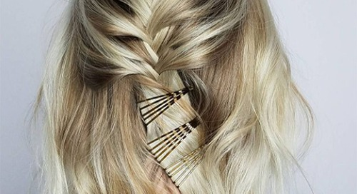 Rambut Rapi dan Gaya Dengan Trik Jepit Hitam Ini