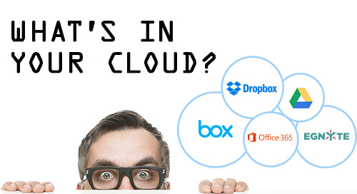 What's in your cloud?  Find sensitive data in minutes.