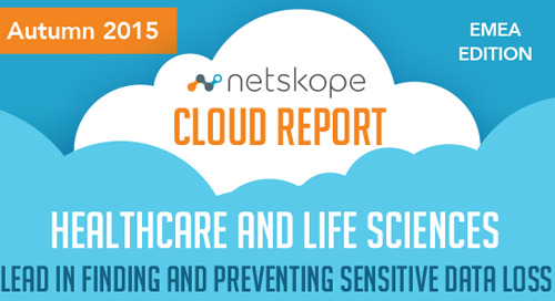 Netskope Cloud Report - EMEA Edition Autumn 2015 [Infographic]