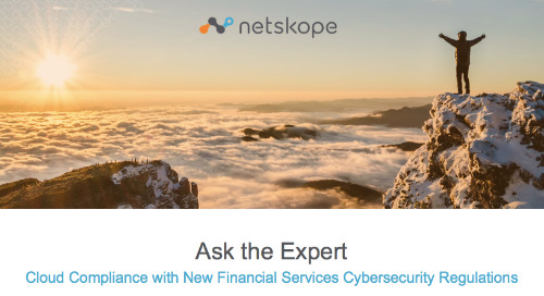Cloud Compliance with New Financial Services Cybersecurity Regulations