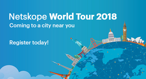 Netskope World Tour 2018