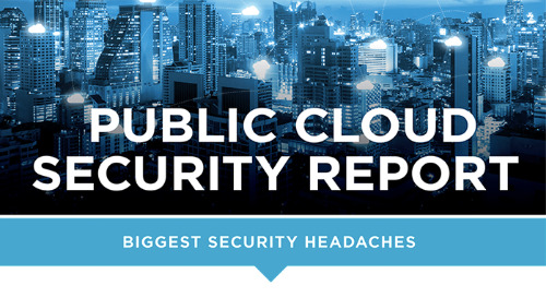 Public Cloud Security 2018 [Infographic]