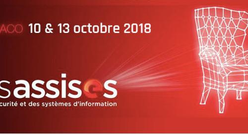 Les Assises de la sécurité et des systèmes d'information I October 11-13, 2018 - Monaco