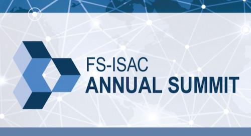 FS-ISAC Annual Summit, April 28 - May 1, 2019 - Orlando