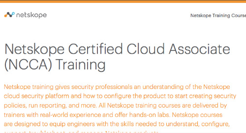About NCCA Training