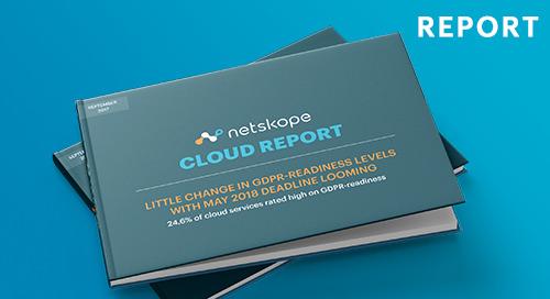 Netskope Cloud Report - September 2017