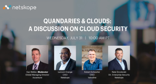 Quandaries & Clouds: A Discussion on Cloud Security
